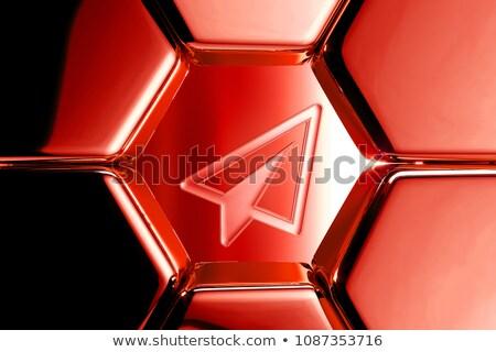 tuesday in 3d coloured hexagons Stock photo © marinini