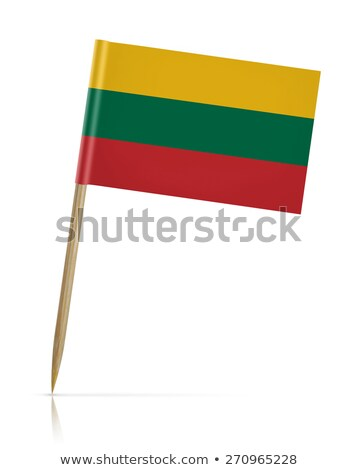 Miniature Flag of Lithuania  (Isolated) Stock photo © bosphorus