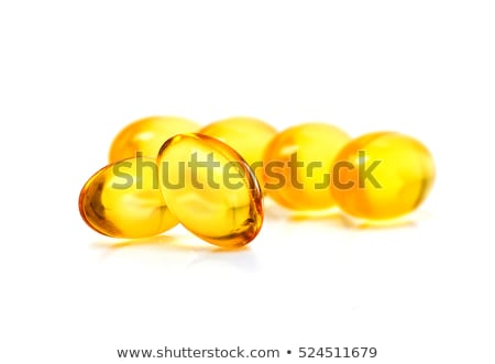 Yellow Gel Capsule Stock photo © Melpomene