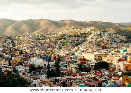 Domboldal város Mexikó 17 világ örökség Stock fotó © emattil