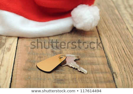chave · mesa · de · madeira · madeira · porta · tabela · hotel - foto stock © inxti