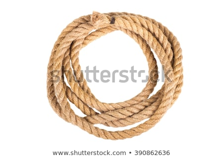 rope coil isolated on a white background stock photo © shutswis