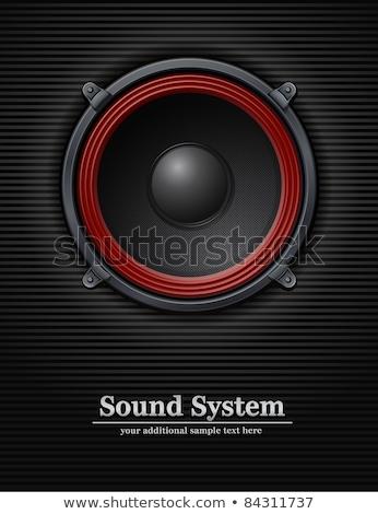 kettő · számítógép · hangfalak · fehér · zene · technológia - stock fotó © giashpee