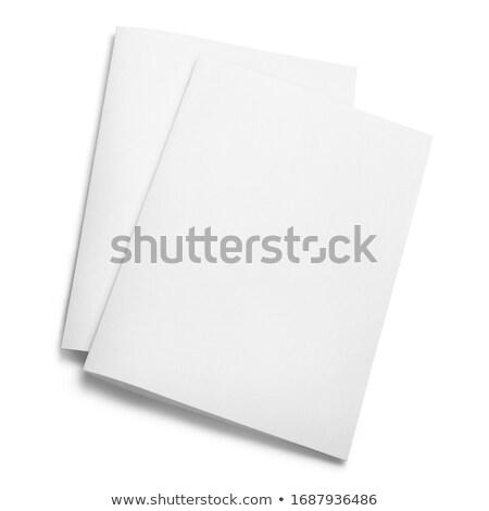 sheet isolated on white background stock photo © zhukow
