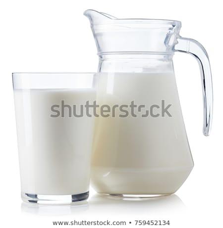 tej · fehér · izolált · doboz · űr · ital - stock fotó © shutswis