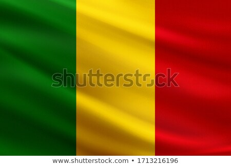 Fabric texture of the flag of Mali Stock photo © maxmitzu