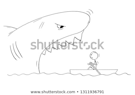 Devour Fisherman Stock photo © cteconsulting