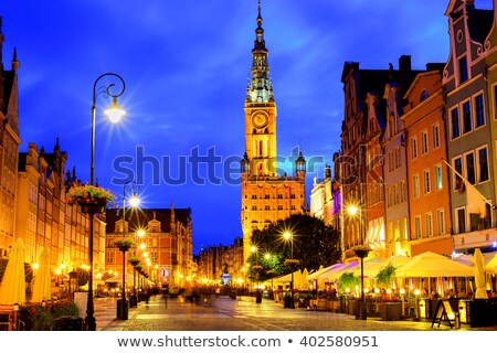 town hall of old gdansk stock photo © neirfy