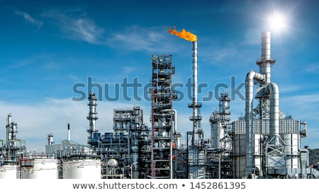 Industrial valve in petrochemical plant Stock photo © Bertl123