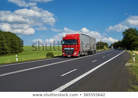 Articulated lorry or truck Stock photo © speedfighter