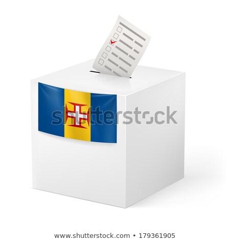 ballot box madeira stock photo © ustofre9