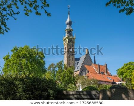 ратуша · Нидерланды · дома · здании · архитектура · Готский - Сток-фото © phbcz