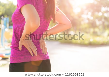 Fit sporty woman hips lower body Stock photo © Maridav