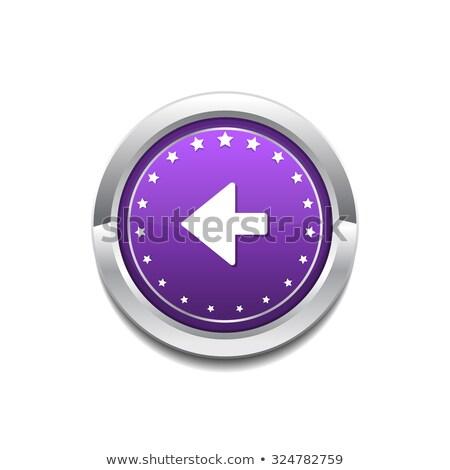 Chave vetor roxo ícone web botão Foto stock © rizwanali3d