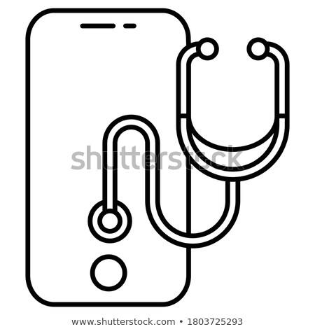 artificielle · modèle · gris · médicaux · corps - photo stock © klinker