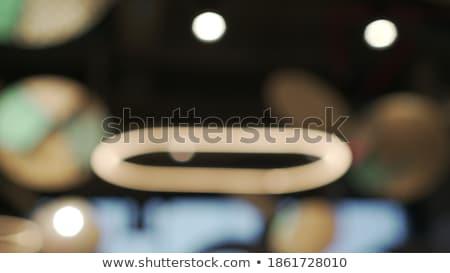Bokeh lichten abstract achtergrond beweging heldere Stockfoto © vinnstock