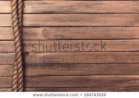Foto stock: Corda · barco · cordas · velho · navegação