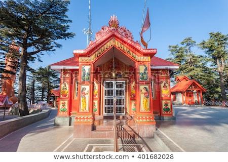 Templom domb India fotózás turizmus kint Stock fotó © imagedb