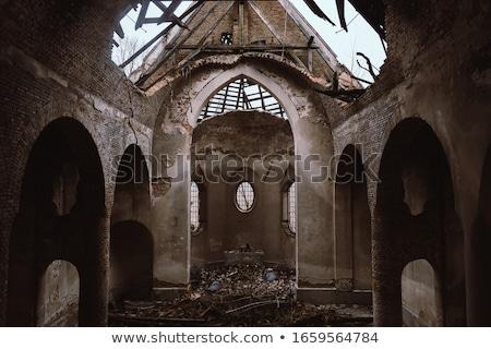 sütunlar · kule · bir · mahkeme · krallık · savaş - stok fotoğraf © rmbarricarte