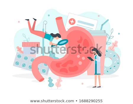 diagnosis   acid reflux medical concept stock photo © tashatuvango