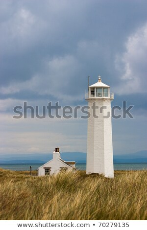 Lighthouse on Walney Island, Great Britain Stock photo © CaptureLight