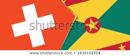 Switzerland and Grenada Flags Stock photo © Istanbul2009