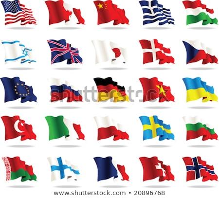 Германия Вьетнам флагами головоломки изолированный белый Сток-фото © Istanbul2009