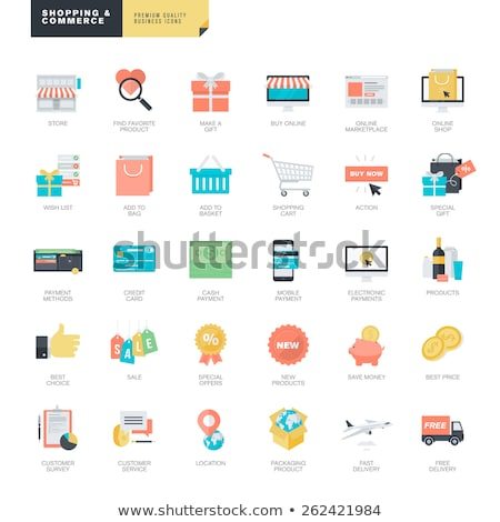 Stockfoto: Special Delivery Icon Flat Design
