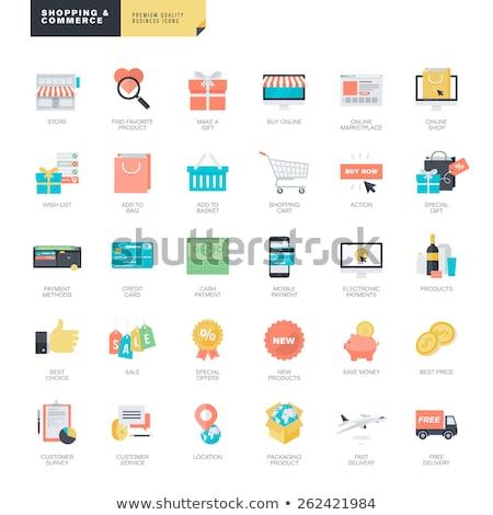 Stockfoto: Speciaal · levering · icon · ontwerp · business · geïsoleerd