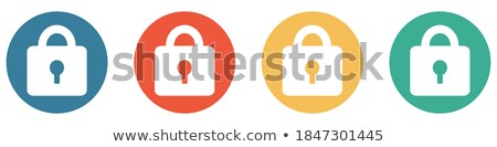 Buttons showing the padlocks Stock photo © bluering