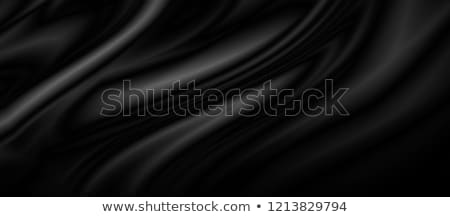 zwarte · zijde · satijn · textuur · achtergrond · weefsel - stockfoto © zven0