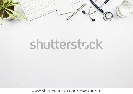 医療 デスク 先頭 表示 コピースペース ストックフォト © stevanovicigor