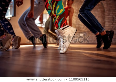 Young dancer practicing modern dancing Stock photo © dash