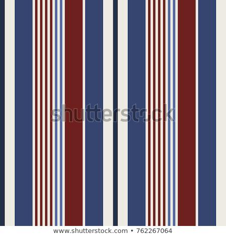 Bezszwowy pasiasty tekstury czerwony materiału wektora Zdjęcia stock © ExpressVectors