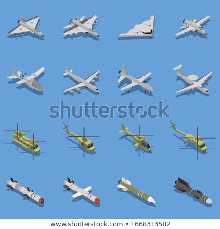 ракета · оружием · атаковать · ядерной · войны - Сток-фото © albund