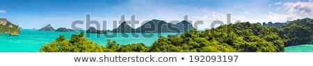 panorama · ilha · Tailândia · belo · naturalismo · paisagem - foto stock © Yongkiet