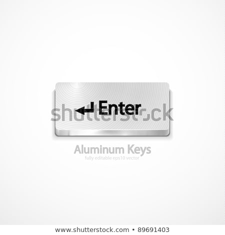 Belépés kulcs modern numerikus billentyűzet pc billentyűzet Stock fotó © tashatuvango