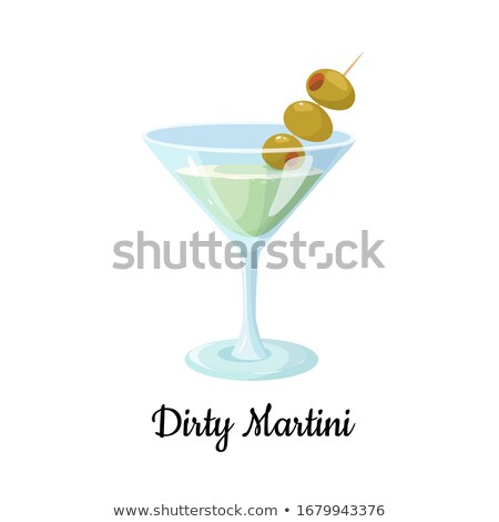 Classic martini with olives  Stock photo © wollertz