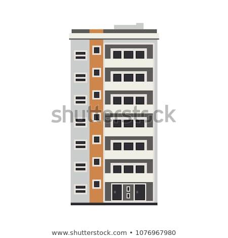 High office building vector cartoon illustration. Stock photo © RAStudio