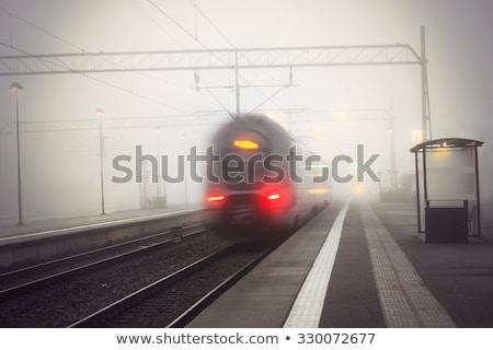 Tren istasyon seyahat kentsel hızlandırmak taşıma Stok fotoğraf © IS2