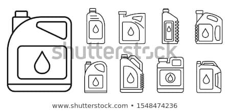 motor · olie · icon · vector · geïsoleerd · witte - stockfoto © angelp