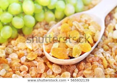 ложку Sweet изюм продовольствие группа Сток-фото © Digifoodstock