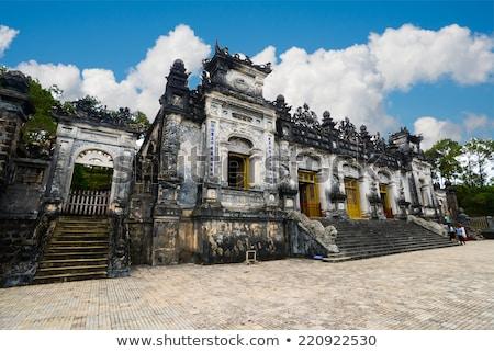 ベトナム · 風景 · ロイヤル · 墓 · 表示 · プラットフォーム - ストックフォト © romitasromala