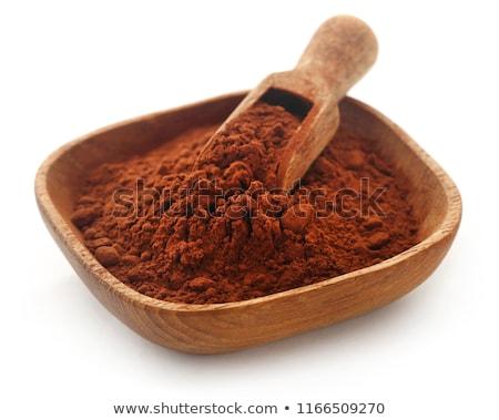 какао белый темно продовольствие пить Сток-фото © bdspn