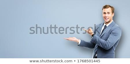 бизнесмен · Постоянный · человека · работу · деловые · люди - Сток-фото © monkey_business