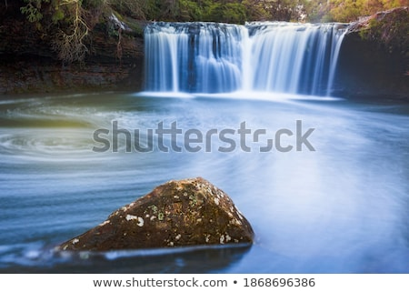 Waterfall and swimming hole in Southern Highlands Stock photo © lovleah