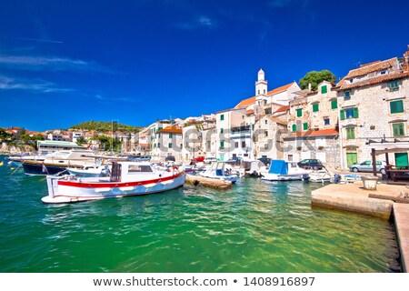 исторический города регион Хорватия небе Сток-фото © xbrchx
