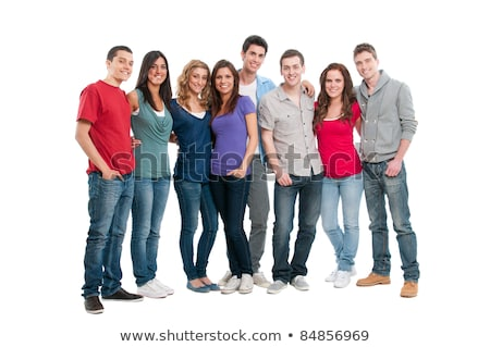 A group of young and adult ladies Stock photo © colematt