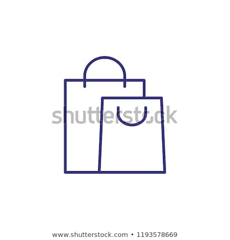 Icon of shopping bags for retail and consumerism concept Stock photo © ussr