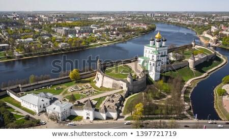 view of Pskov kremlin Stock photo © borisb17